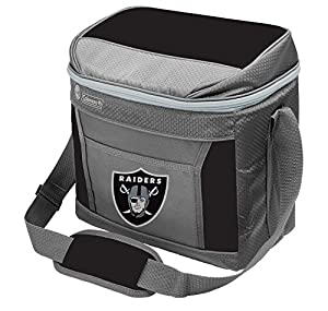 Coleman NFL Soft-Sided Insulated Cooler Bag, 16-Can Capacity, Las Vegas Raiders, Black from Jarden Sports Licensing