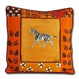 African Attitude Sofakissen Kissenbezug Zebra
