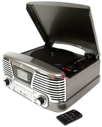 GPO Memphis Equipo Reproductor de vinilos - Tocadiscos de