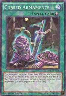 Yu-Gi-Oh! - Cursed Armaments (BP03-EN169) - Battle Pack 3: Monster League - 1st Edition - Shatterfoil