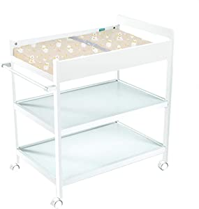 Baby Changing Table Changing Unit Station Diaper Table Changing Table Portable Diaper Unit Massaging Station Nursery For Infant