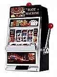 GamePoint SPARDOSE im Original Las Vegas Deluxe Casino Slot Machine Spielgerät Look - Einarmiger...