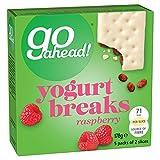 Go Ahead Yoghurt Breaks Raspberry 5 pro Packung