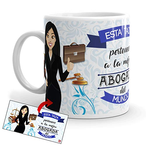 Kembilove Taza de Café de la Mejor Abogada del Mundo – Taza...