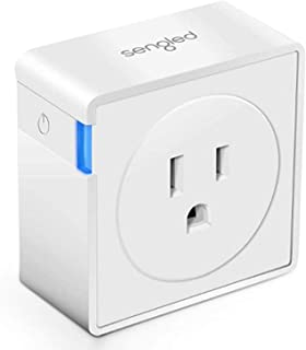 Smart Plug Outlet with Timer Function by Sengled, Compatible with Alexa, Google Home, Smart Hub Required, App Control, Typ...