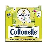 Cottonelle - Ricarica di carta igienica umida per bambini, 12 confezioni da 42 salviette...