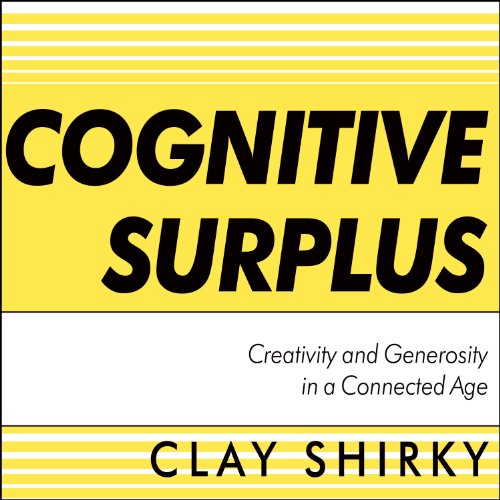 Cognitive Surplus audiobook cover art