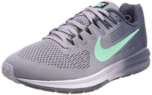Nike Women's Air Zoom Structure 21 Running Shoe 6 Grey