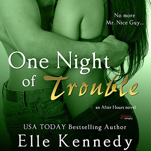 One Night of Trouble audiobook cover art