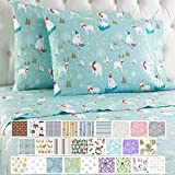 Thermee Micro Flannel Shavel Home Products Sheet Set, Full, Winter Fun