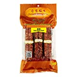 Uncooked Chinese Style Sausage (Grain Alcohol Flavor)奇有 酒香广式腊肠 14oz/397g (pack of 2)