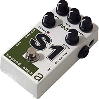 AMT Electronics Legend Amps Series S1 Distortion Guitar Effects Pedal