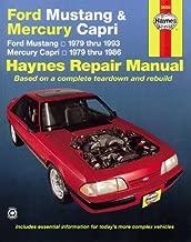 Ford Mustang, Ghia & Cobra (79-93) & Mercury Capri, Ghia & RS (79-86) with In-line 4 cyl & 6 cyl, V6 & V8 Haynes Repair Manual (Haynes Repair Manuals)