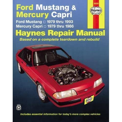 download manual for 1982 mustang