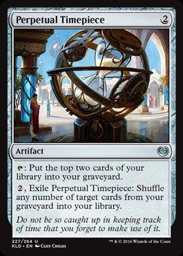 Magic: the Gathering - Perpetual Timepiece - Orologio Perpetuo - Kaladesh