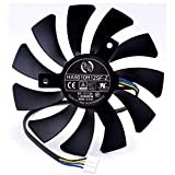 85mm 4pin HA9010H12SF-Z RX460 4GB Cooler Fan Replace for MSI Inno3D P106 960 GeForce GTX 1060 AERO ITX 3G 6G OC Video Card HZDO