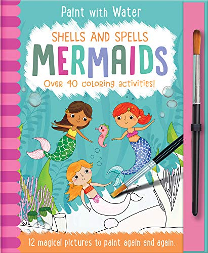 Shells and Spells - Mermaids (Paint with Water)