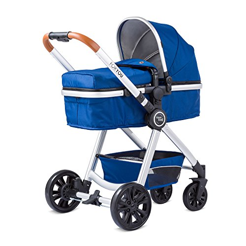 knorr-baby 860602 Kombikinderwagen For You, blau
