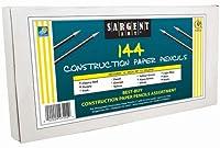 Sargent Art 144カウント 建築用紙 色鉛筆クラスパック ベストバイアソート、22-7292