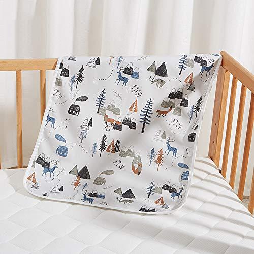GESS Uit draagbare babyluiers, waterdichte matras voor thuis, comfortabel zacht en veilig zonder irriterende huid