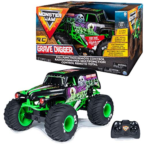 Monster Jam 6044994 RC Grabbagger, Maßstab 1:10