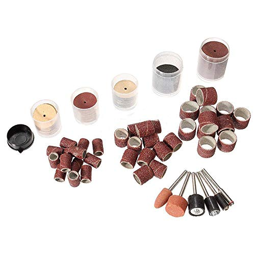 ABST09332 Abrasive 206Pcs Rotary Tool Accessory Kit Sanding Bands Power Drill Multi Polishing Tool