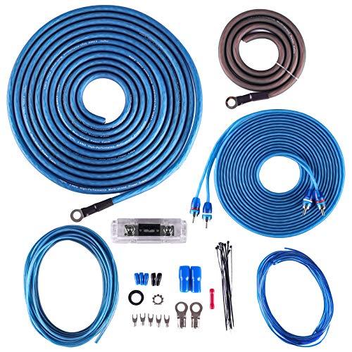 Skar Audio 4 Gauge CCA Complete Amplifier Installation Wiring Kit, SKAR4ANL-CCA