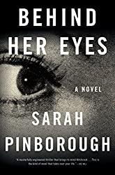 Book cover of Behind Her Eyes by Sarah Pinborough.