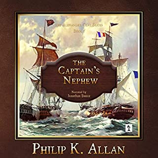 The Captain's Nephew audiobook cover art