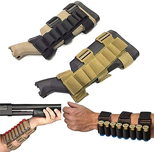 Gexgune Tactical Hunting 8 Rounds Bullet Shell Holder Carrier Shooter s Forearm Sleeve Mag Magazine product image