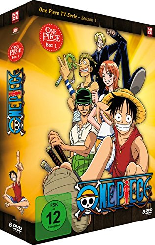 One Piece - TV-Serie, Box 1 (Episoden 1-30) [6 DVDs]...