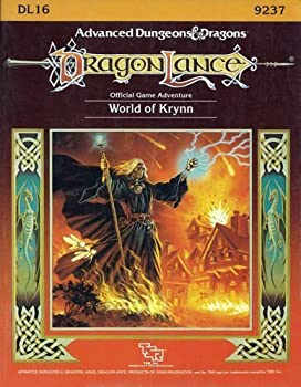 DL16 The World of Krynn - Book  of the Advanced Dungeons and Dragons Module #C4