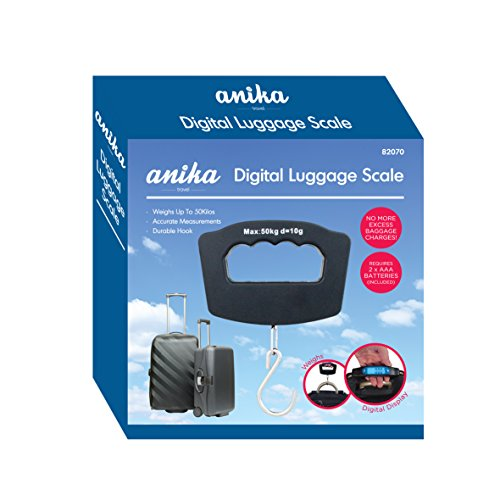 Anika impugnatura Bilancia bagagli digitale