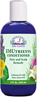 Montana Emu Ranch - EMUtrients Conditioner 8 Ounce Bottle - Made with Pure Emu Oil