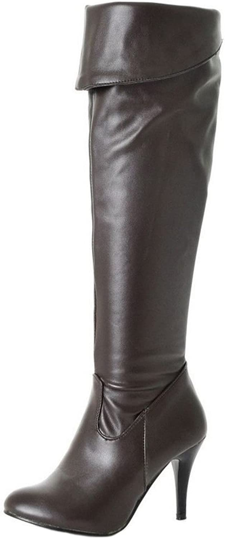 Cular Acci Women Heels Boots Half Zipper