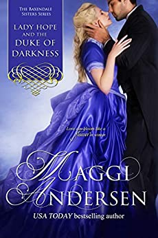 Lady Hope and the Duke of Darkness: The Baxendale Sisters Book 3 by [Maggi Andersen]