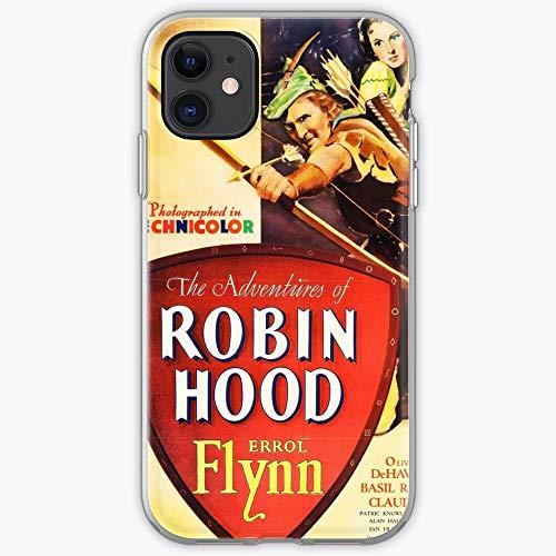 Old Movies Robin Films Hood Movie Film Phone Case For All iPhone, iPhone 11, iPhone XR, iPhone 7 Plus/8 Plus, Huawei, Samsung Galaxy Illustration Stars Digital Rabbit Cute Bunny Kawaii Fun C
