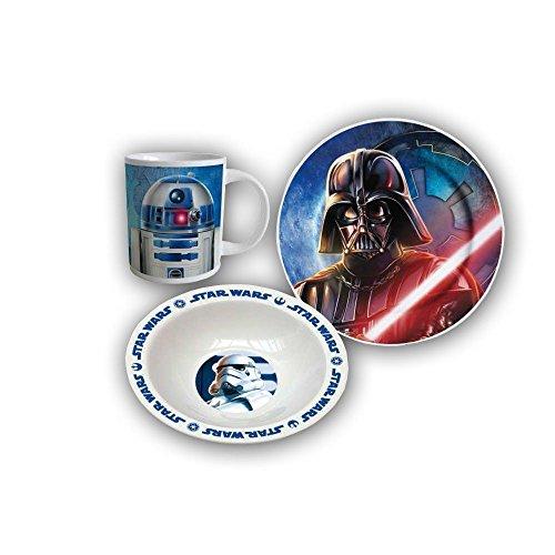 Star Wars Set desayuno 3pcs (Suncity SWA101763)