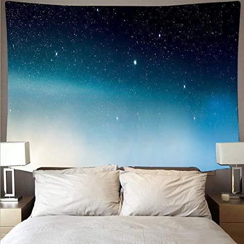 KHKJ Misterioso Universo Espacio Cielo Estrellado Gran Arte Tapiz psicodélico Colgante de Pared Toalla de Playa Manta A5 150x130cm
