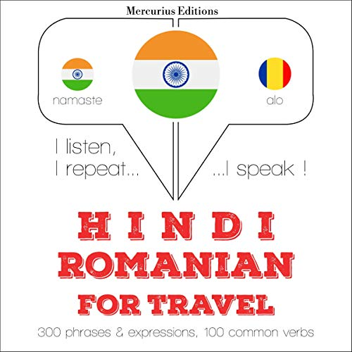 Hindi - Romanian. For travel cover art