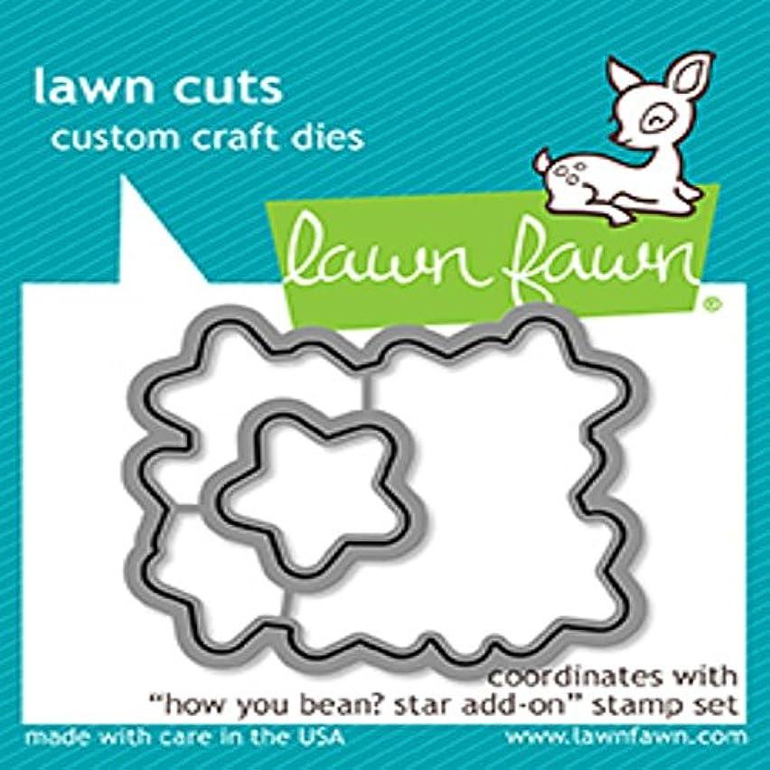 Lawn Fawn Lawn Cuts Custom Craft Die - LF1691 How You Bean? Stars
