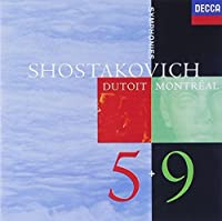 SHOSTAKOVICH: SYMPHONY NO.5+9 by MONTREAL SYMPHONY ORCHESTRA CHARLES DUTOIT (2014-08-03)