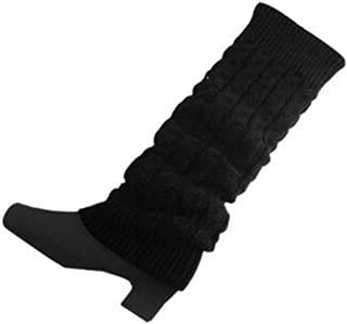 Ishua Damen Winter Warm Strick Stulpen Socken Unterschiedliche Farben