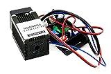 12v Orange Red Diode Lasers 635nm 638nm 200mw Laser Dot Module w/Driver Out & TTL 0-5V