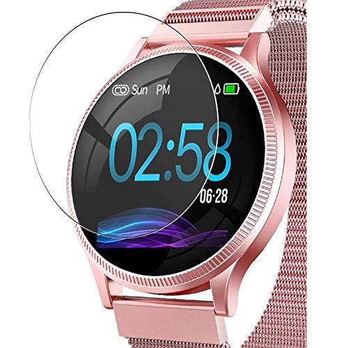 Vaxson 3 Stück Schutzfolie, kompatibel mit AIMIUVEI M8 smartwatch Smart Watch, Displayschutzfolie TPU Folie [ nicht Panzerglas ]