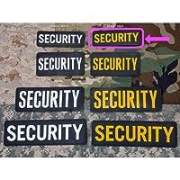 パッチ SECURITY 6'x2'(PVC/Black/Gold)