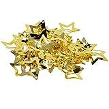 50x Butterfly/Star Snap Haarclips Haarspangen Accessories Haarklammer Haarschmuck für Damen Mädchen - Stern golden