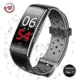 Smartwatch Orologio Fitness Tracker Pressione Sanguigna Impermeabile Smartband Activity Tracker con...