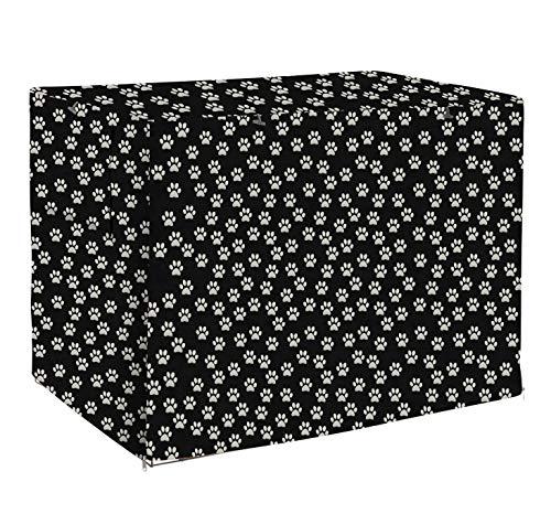 Morezi - Cubierta universal para jaula de alambre (poliéster, resistente a prueba de viento, protección interior y exterior, color negro