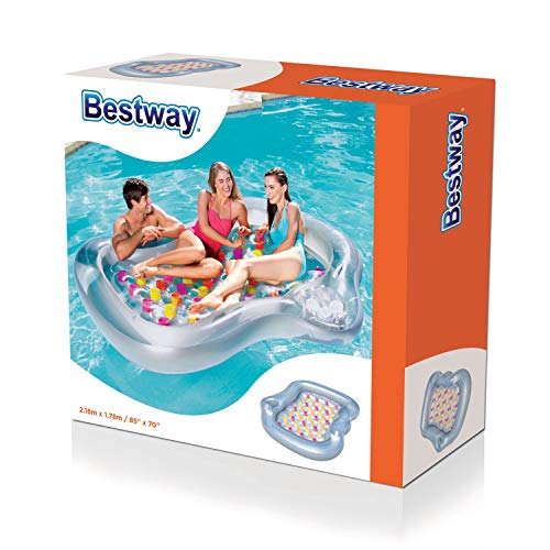 """Bestway 43045 - Doppel-Luftmatratze """" Designer Lounge"""" (EU-Version)"""